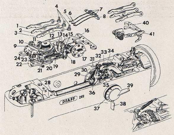 service manual for mechanics pfaff 259 260 261 262 360 361 362 do it rh yaya online com Pfaff 360 Instruction Manual Pfaff Sewing Machine Manual 461